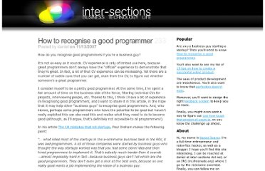 http://www.inter-sections.net/2007/11/13/how-to-recognise-a-good-programmer/