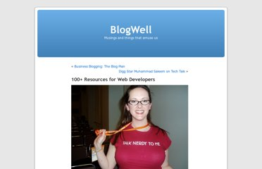 http://blog-well.com/2008/03/04/100-resources-for-web-developers/