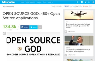 http://mashable.com/2007/09/23/open-source/