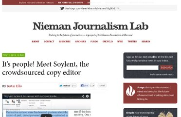 http://www.niemanlab.org/2010/11/its-people-meet-soylent-the-crowdsourced-copy-editor/