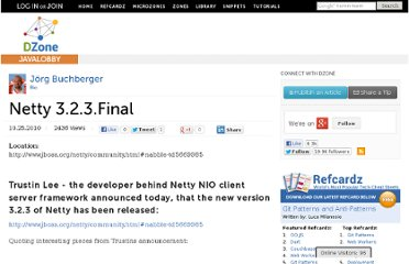 http://java.dzone.com/announcements/netty-323final-released
