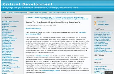 http://dvanderboom.wordpress.com/2008/03/15/treet-implementing-a-non-binary-tree-in-c/