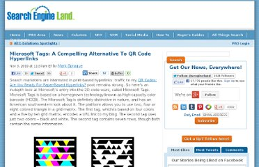 http://searchengineland.com/microsoft-tags-a-compelling-alternative-to-qr-code-hyperlinks-52315