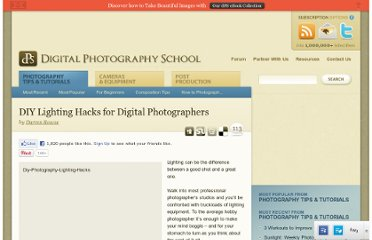 http://digital-photography-school.com/diy-flash-and-lighting-hacks-for-digital-photographers