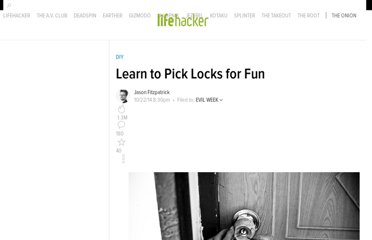 http://lifehacker.com/5672326/learn-to-pick-locks-for-fun-and-an-increased-understanding-of-security