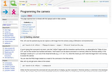 http://wiki.laptop.org/go/Programming_the_camera