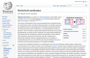 http://en.wikipedia.org/wiki/Statistical_mechanics