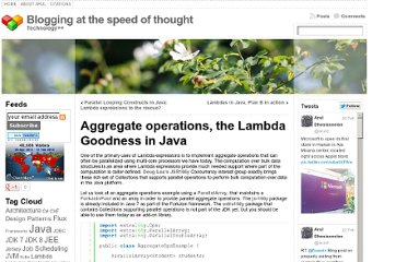 http://aruld.info/aggregate-operations-the-lambda-goodness-in-java/