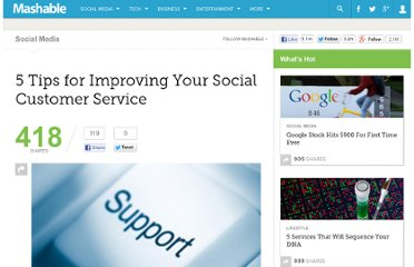 http://mashable.com/2010/11/03/improve-social-customer-service/