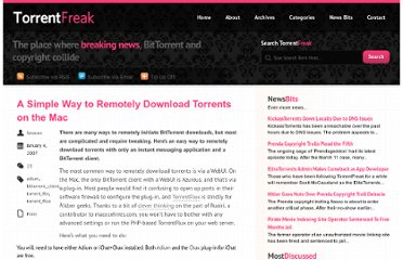 http://torrentfreak.com/a-simple-way-to-remotely-download-torrents-on-the-mac/