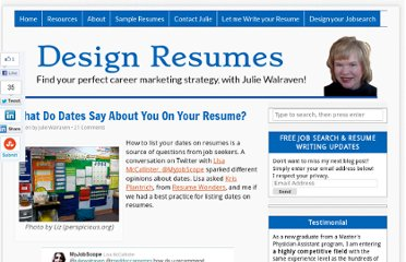 http://designresumes.com/2010/11/dates-on-your-resume/