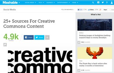 http://mashable.com/2007/10/27/creative-commons/