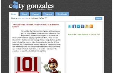 http://www.cotygonzales.com/2010/04/12/101-nintendo-t-shirts-for-the-ultimate-nintendo-gamer/