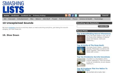 http://www.smashinglists.com/10-unexplained-sounds/