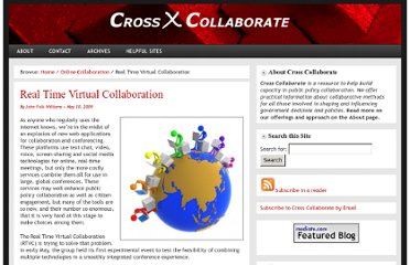 http://www.crosscollaborate.com/2009/05/realtime-virtual-collaboration-conference/