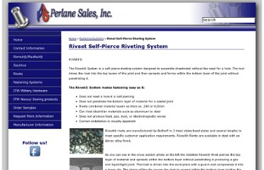 http://www.perlanesales.com/rivset_self_pierce_riveting_system.php