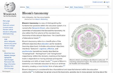 http://en.wikipedia.org/wiki/Bloom%27s_Taxonomy