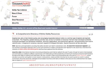 http://www.connectsafely.org/Directories/internet-safety-resources.html