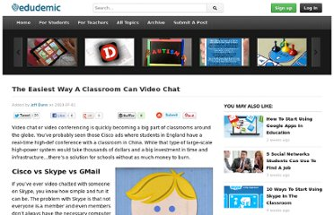 http://edudemic.com/2010/07/the-easiest-way-a-classroom-can-video-chat/