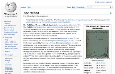 http://en.wikipedia.org/wiki/The_Hobbit