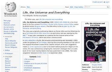 http://en.wikipedia.org/wiki/Life,_the_Universe_and_Everything