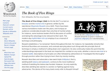 http://en.wikipedia.org/wiki/The_Book_of_Five_Rings