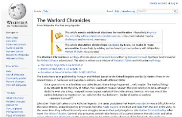 http://en.wikipedia.org/wiki/The_Warlord_Chronicles