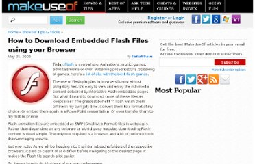 http://www.makeuseof.com/tag/how-to-download-embedded-flash-swf-files-using-your-browser/