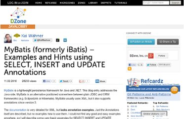 http://java.dzone.com/articles/mybatis-formerly-called-ibatis