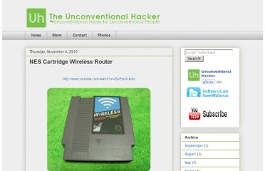 http://www.unconventionalhacker.com/2010/11/nes-cartridge-wireless-router.html