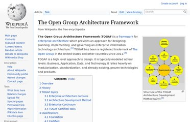 http://en.wikipedia.org/wiki/The_Open_Group_Architecture_Framework