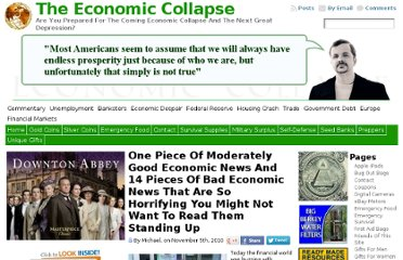 http://theeconomiccollapseblog.com/archives/one-piece-of-moderately-good-economic-news-and-14-pieces-of-bad-economic-news-that-are-so-horrifying-you-might-not-want-to-read-them-standing-up