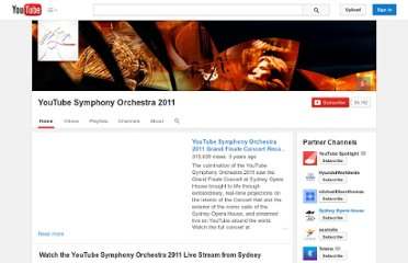 http://www.youtube.com/user/symphony