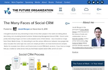 http://www.jmorganmarketing.com/the-many-faces-of-social-crm/