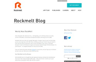 http://blog.rockmelt.com/post/1509448074/world-meet-rockmelt