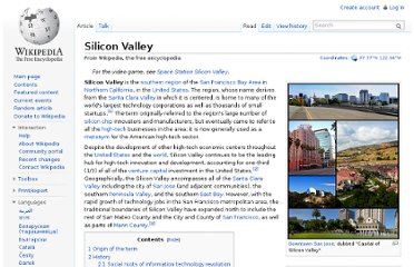 http://en.wikipedia.org/wiki/Silicon_Valley