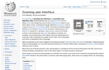 http://en.wikipedia.org/wiki/Zooming_user_interface