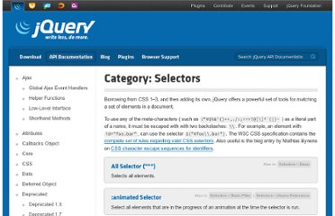 http://api.jquery.com/category/selectors/