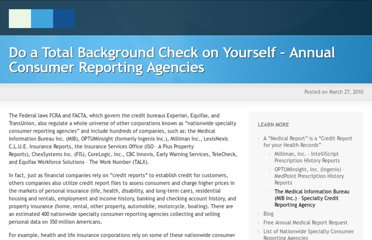 https://www.annualmedicalreport.com/do-a-total-background-check-on-yourself-annual-consumer-reporting-agency/