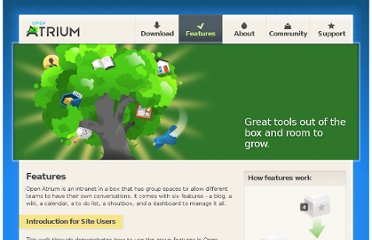 http://openatrium.com/features