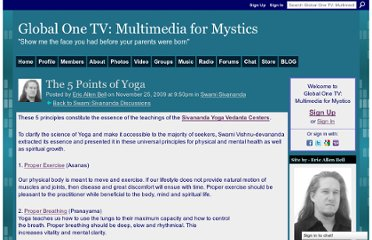http://www.globalone.tv/group/SwamiSivananda/forum/topics/the-5-points-of-yoga-1