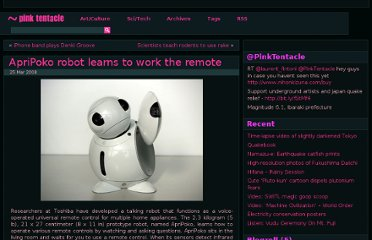 http://pinktentacle.com/2008/03/apripoko-robot-learns-to-work-the-remote/