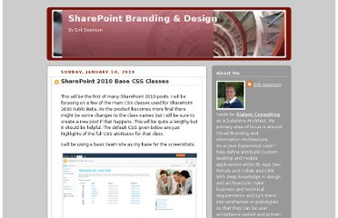 http://erikswenson.blogspot.com/2010/01/sharepoint-2010-base-css-classes.html