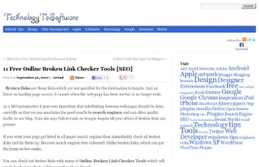 http://technologytosoftware.com/best-free-online-broken-link-checker-tools-seo.html