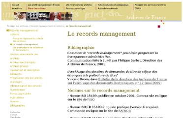 http://www.archivesdefrance.culture.gouv.fr/gerer/records-management-et-collecte/le-records-management/