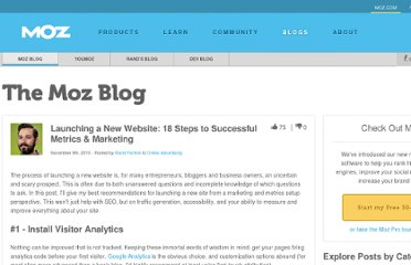 http://www.seomoz.org/blog/launching-a-new-website-18-steps