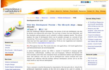 http://www.macronimous.com/resources/web_development_life_cycle.asp