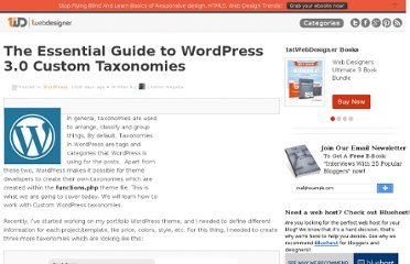 http://www.1stwebdesigner.com/wordpress/essential-guide-wordpress-custom-taxonomies/