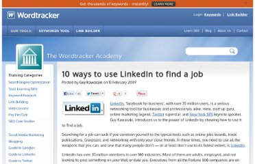 http://www.wordtracker.com/academy/guy-kawasaki-linkedin