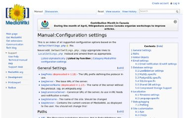 http://www.mediawiki.org/wiki/Manual:Configuration_settings